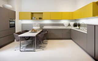 Дизайн кухни гостиной с угловой кухней