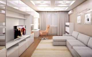 Дизайн интерьера гостиной комнаты 20