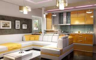 Дизайн кухни гостиной 22 кв м фото