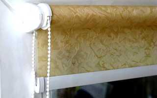 Как крепить рулонные шторы на деревянные окна