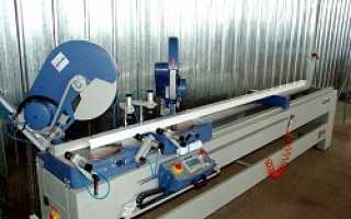 Линия по производству пластиковых окон