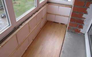 Обшивка балкона изнутри своими руками