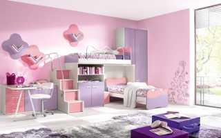 Спальня для девочек дизайн фото
