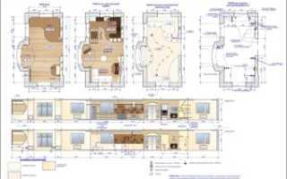 Развертка стен в дизайне