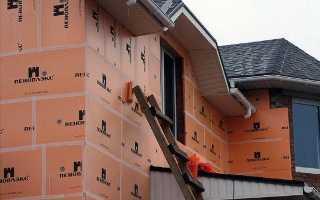 Расчет толщины пенопласта для утепления стен