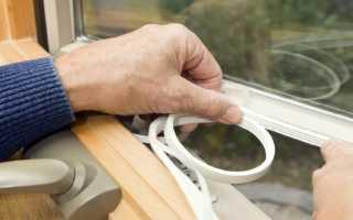 Утеплитель для деревянных окон