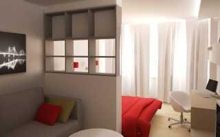 Гостиная спальня 20 кв м интерьер