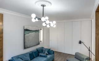 Дизайн люстр для гостиной