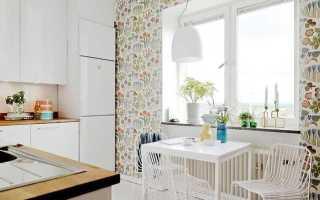 Дизайн кухни в хрущевке обои
