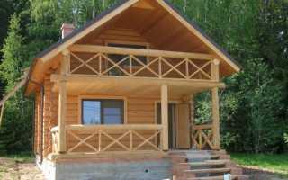 Гидроизоляция деревянного балкона на даче
