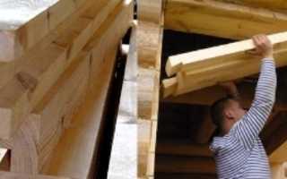 Как заложить окно в деревянном доме