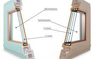 Окна пластиковые двухкамерные или трехкамерные