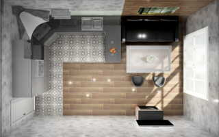 Дизайн комнаты 18 кв кухня гостиная