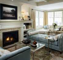 Дизайн гостиной с камином в квартире фото