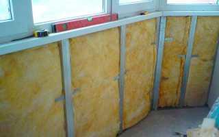 Утепление балкона минеральной ватой своими руками