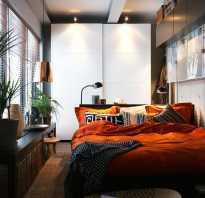 Спальня в маленькой комнате дизайн