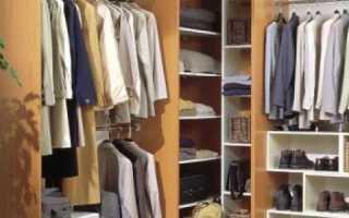 Угловые гардеробные в спальне фото дизайн