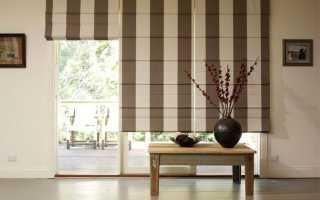 Можно ли стирать римские шторы?
