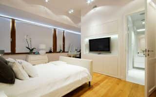 Телевизор в спальне дизайн
