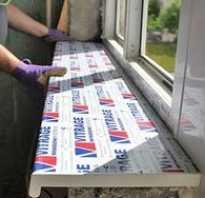 Как самому сделать подоконник к пластиковому окну