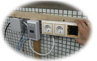 Электропроводка на лоджии своими руками