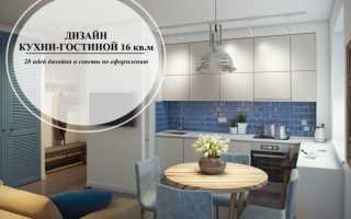 Дизайн кухни гостиной 16 кв м фото