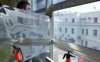 Как снять фольгу со стекла?